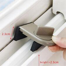 Security Sliding Door Window Lock Safety Lock Sliding Sash Stopper For Kids HU