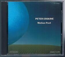PETER ERSKINE MOTION POET  CD MADE IN JAPAN