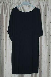 Monsoon Ladies Navy Blue Viscose Dress ~ Size 10 ~ NWT ~ Original Tag Price £79