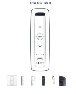 SOMFY Télécommande Situo 5 io Pure II ( IO system - 5 canaux ) 5140557A GX2019