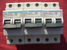 LOT 3 Réf NF206 OU NFN206 DISJONCTEUR HAGER 2P 6A 6/10kA COURBE C 230;400V NEUF