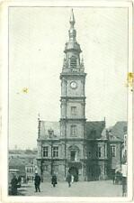 Le Cateau France town hall  German Occupation WW I  used feldpostkarte c1915