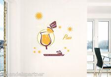 Wandtattoo COCKTAIL Pina Colada Bar Lounge Urlaub Tattoo Aufkleber Sticker NEU
