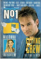 Nick of Cutting Crew on Magazine Cover 27 September 1986   Madonna   Falco
