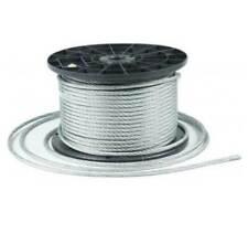 Stahlseil Drahtseil galvanisch verzinkt Seil Draht Rostfrei 1mm bis 8mm 1m-250m