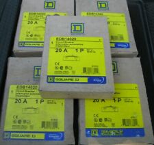 5 Nos Square D 20 Amp Breaker Edb14020