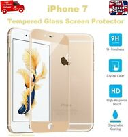 100% GENUINE Full 3D Coverage Tempered Glass Screen Protector for iPhone 7 GOLD