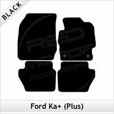 Ford Ka+ Plus 2016 onwards Tailored Fitted Carpet Car Mats BLACK
