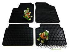 4 x Gummi-Fußmatten ☔ für HYUNDAI i10 2007 - 2013