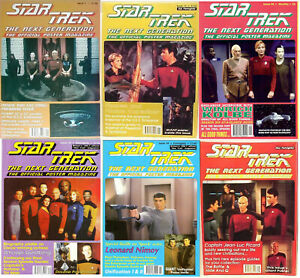 Original 1990s Star Trek Next Generation Poster Magazines- #1-92+  Your Choice