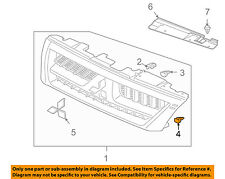 MITSUBISHI OEM 01-06 Montero-Grille Assembly Clip MB880530