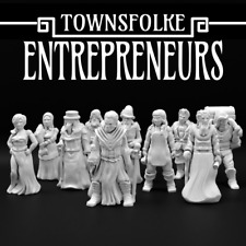 Townsfolke: Unternehmer 28mm d&d NKS