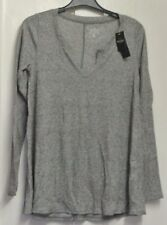 New Hollister wms/teens long sleeve top Grey S