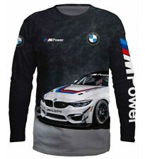 T-shirt BMW Motorsport M Power + Car Motorrad Long Sleeve 3D New Quick Dry Sale