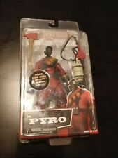 "NECA Team Fortress 2 Red Pyro (7"") - New in Box, with In-Game Item SEALED TF2"