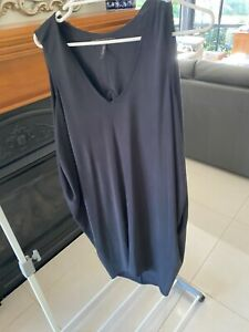 BCBG Max Azria Black Midi Dress Size M EXCELLENT CONDITION!