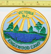 Girl Guides Victoria BC Kingswood Camp Canada Badge Label Patch