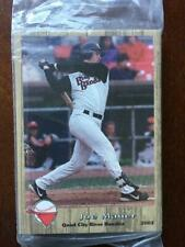 JOE MAUER Rookie  MINNESOTA TWINS 2002 QUAD CITY RIVER BANDITS 30 Card Set Rare