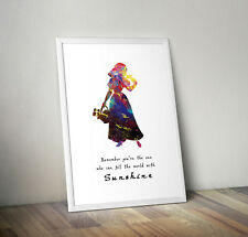 Snow white, print, poster, Disney, quote, wall art, gift, picture, inspirational