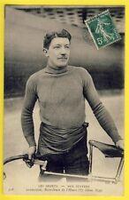 cpa SPORT PARIS 1908 le COUREUR CYCLISTE Français Louis DARRAGON de VICHY Vélo