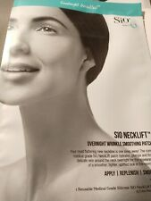 SiO neckLift overnight Wrinkle Smooting Patch. Brand new reusable medical grade