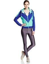 NWT PUMA Spectrum Blue /Electric Green Colorblock Zip Front Jacket Hoodie Medium