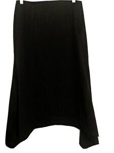 Cue Made In Australia Long Black Skirt