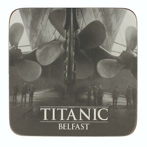 Titanic Propellers Collectors Coaster (sg)
