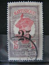 FRANCE oblitéré  MARTINIQUE n° 85