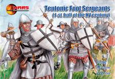Mars 1/72 teutonischen Fuß Sergeants 1. halb XV Century #72052