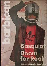Jean Michel Basquiat-Boom pour Real 2017-Barbican London Exhibition Poster