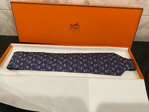 New Without Tags Hermes Paris Neck Tie.