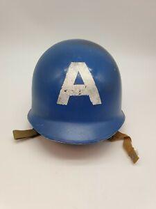 Metal Captain America Helmet - Cosplay / Halloween 🎃