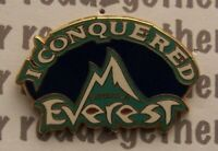 Disney Pin WDW Animal Kingdom I Conquered Expedition Everest