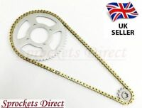 Chain and Sprocket Kit GOLD for Aprilia 125 RS Extrema HEAVY DUTY ' 04-05