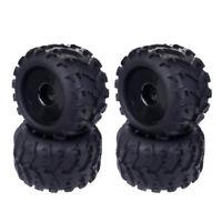 4pcs 1/8 RC Monster Car Wheel Rim Tire for Redcat HSP Kyosho Hobao DIY Parts