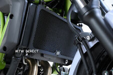 Kawasaki Z650 Ninja 650 2017-2018 R&G RACING black radiator guard cover