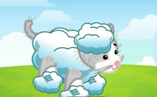 Webkinz Clothing- Cloud Adventure Outfit