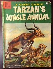 TARZAN'S JUNGLE ANNUAL #5 (1956) Dell Comics VG