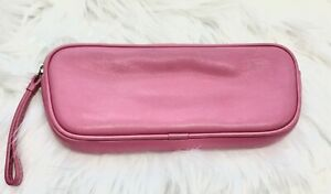 Coach Eyeglass Case in Soft Pink Leather Zip Leatherware