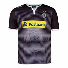 Borussia Mönchengladbach Champions League Trikot schwarz silber in L KAPPA NEU