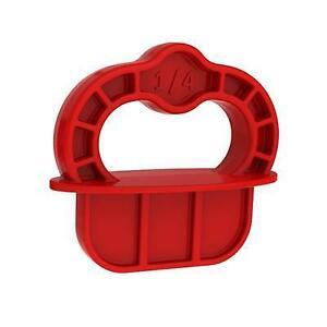 Kreg Deck Jig Red Spacer Rings 1/4-Inch (6.36mm) 12 Pack DECKSPACER-RED