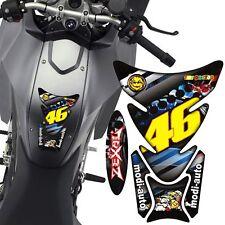 Protection sticker Réservoir Moto Bike tank pad panel gel résine El Doctor Rossi