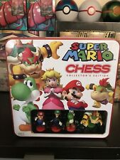Super Mario Chess - COLLECTOR'S EDITION - BRAND NEW & SEALED - (SHIPS TODAY) ✅