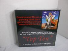 """TOP TEN"" COMMANDMENTS BOARD GAME NEW! EDUCATIONAL! EXCITING! FUN!"