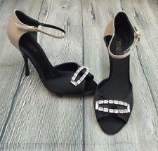 Giambattista Valli En Satin Embelli Peep Sandales > BN > Authentique > £ 480+ > 3uk > 36 > chaussures >