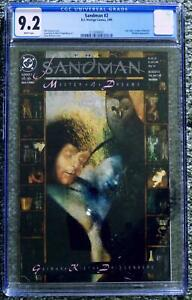 Newly Graded CGC 9.2 White Pages  Sandman #2  Cert# 2123040001