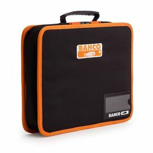 Bahco 4750FB5B Fabric Hand Tool Holder Organiser Storage Zipped Case