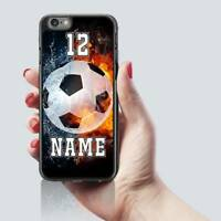 Football Fan Personalised PHONE CASE COVER Name Number iPHONE 5 5s 5c 6 6s 7 8 X
