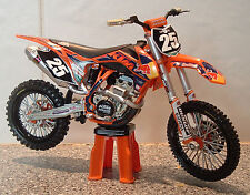 2013 TOY MOTOCROSS BIKE MODEL 1:12 MARVIN MUSQUIN RED BULL KTM #25 SXF 250 GIFT